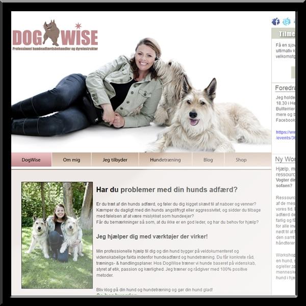 wordpress hjemmeside, Dogwise