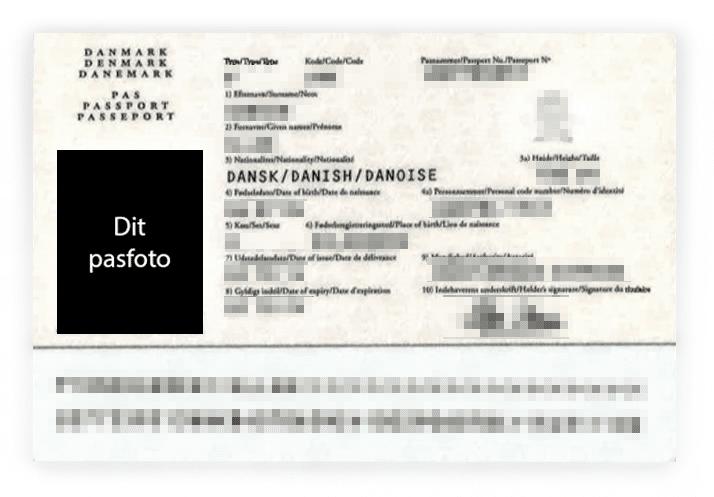 få taget pasfoto i Ikast